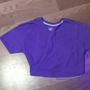 Tops - Purple Op t shirt with front pocket